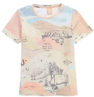 Scotch Shrunk Allover Print T-Shirt