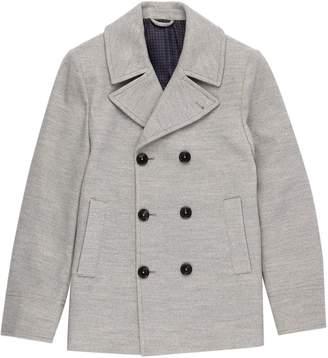 Burton Mens Faux Wool Pea Coat