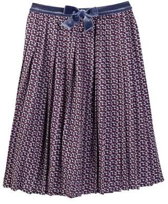Couture Frenchie Mini Kishi Printed Skirt (Toddler, Little Girls, & Big Girls)