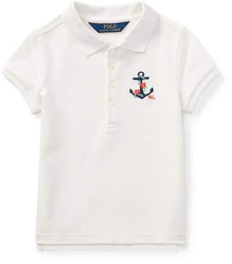 Ralph Lauren Anchor Mesh Polo Shirt