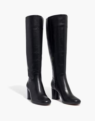 Madewell The Scarlett Tall Boot in Leather