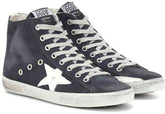 Golden Goose Francy high-top suede sneakers