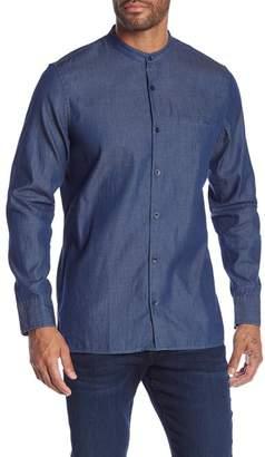 14th & Union Denim Long Sleeve Casual Shirt