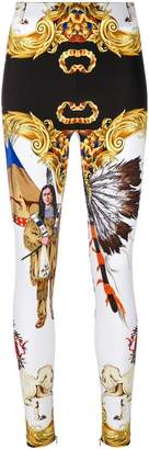 Versace Native American leggings