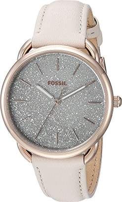 Fossil Women's 'Tailor' Quartz Stainless Steel and Leather Casual Watch
