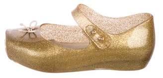 Mini Melissa Girls' Rubber Ballet Flats