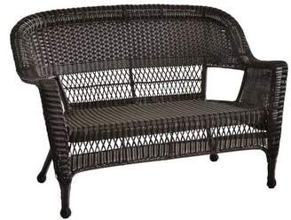 Ophelia & Co. Karan Wicker Patio Loveseat