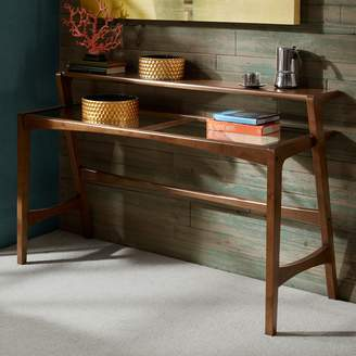 Inkivy INK+IVY Rocket 2-Tier Glass Top Console Table