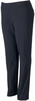 Apt. 9 Plus Size Brynn Millennium Pinstripe Pull-On Dress Pants