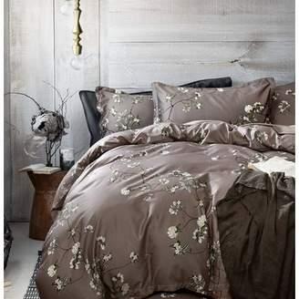 One Allium Way Gagny 100% Cotton 3 Piece Duvet Set