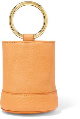 Simon Miller Bonsai 15 Mini Leather Bucket Bag - Tan