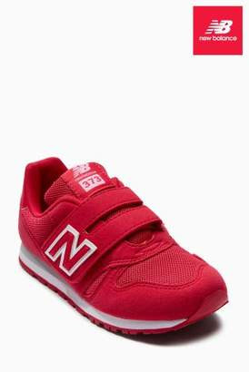 Next Girls New Balance Pink 373 Velcro