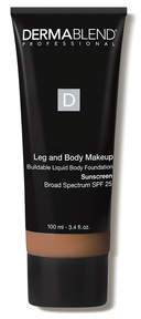 Dermablend Leg and Body Makeup Foundation with SPF 25 - 45N Medium Bronze