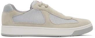 Prada Beige Avenue Runner Sneakers