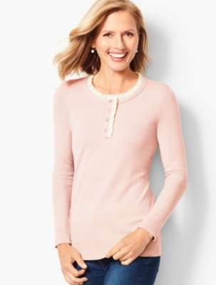 Talbots Button Snap Sweater