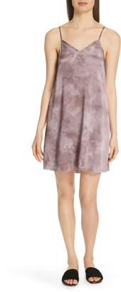 ATM Anthony Thomas Melillo Tie Dye Silk Slipdress