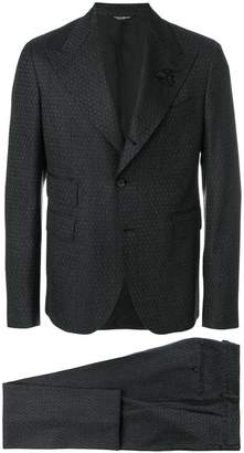 Dolce & Gabbana patterned formal suit