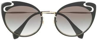 Miu Miu cat-eye shaped sunglasses
