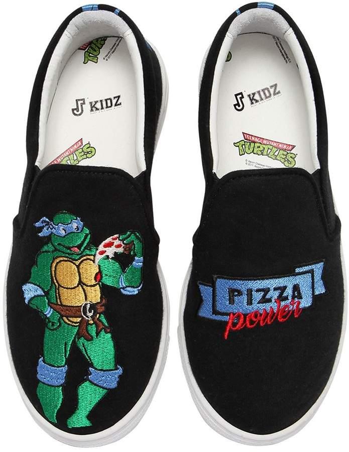 Leonardo Ninja Turtle Slip-On Sneakers