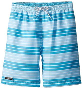 Toobydoo Aqua Stripe Swim Shorts Boy's Swimwear