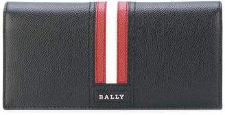 Bally stripe continental wallet