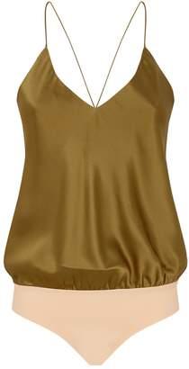 Alix Silk Bodysuit