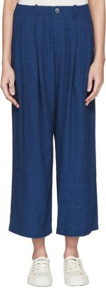 Blue Blue Japan Indigo Wide Trousers $315 thestylecure.com