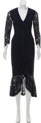 Alexis Lace Evening Dress