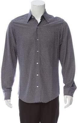 Tom Ford Polka Dot Button-Up Shirt