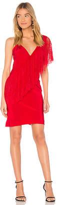 Diane von Furstenberg Ruffle Front Lace Dress
