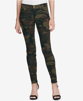 Jessica Simpson Kiss Me Printed Super-Skinny Jeans