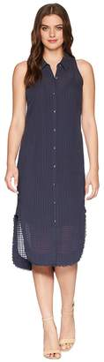 Splendid Shirtdress w/ Fray Women's Dress