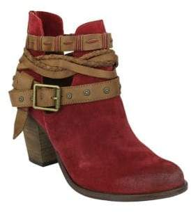 Naughty Monkey Cuthbert Suede Booties