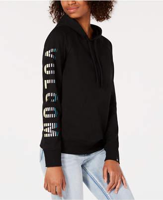 Volcom Juniors' Driftin' Stone Graphic-Sleeve Sweatshirt