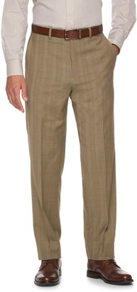 Chaps Men's Classic-Fit Wool-Blend Performance Suit Pants