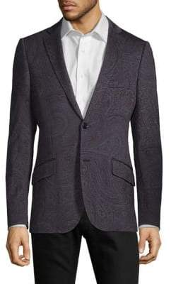 Etro Large Paisley-Print Standard-Fit Sportcoat