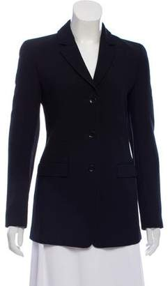 Calvin Klein Collection Structured Wool Blazer