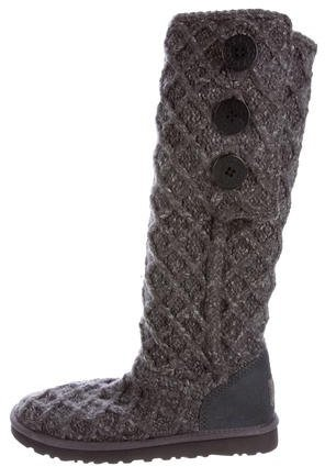 UGG UGG Australia Knit Knee-High Boots