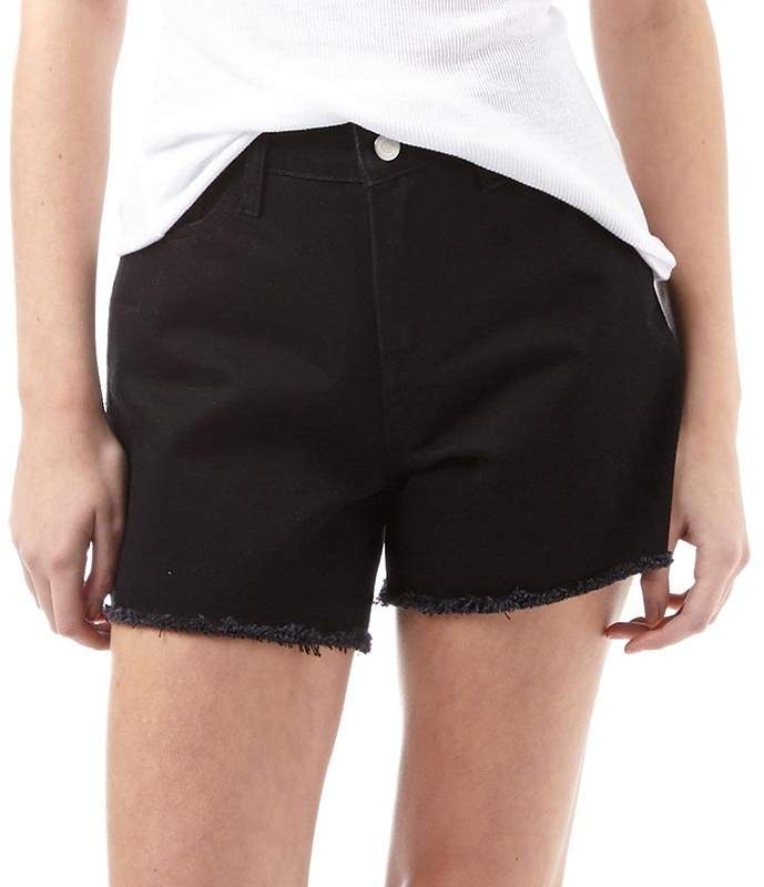 Fluid Damen Shorts Schwarz