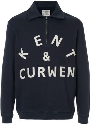 Kent & Curwen logo print sweatshirt