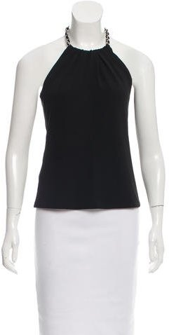 MICHAEL Michael Kors Michael Kors Chain-Accented Sleeveless Top