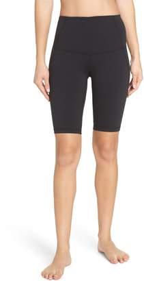 Zella Hatha High Waist Bike Shorts