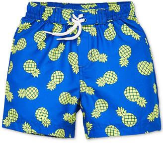 e7c7e3a07c Little Me Pineapple Baby Boys Swim Trunks