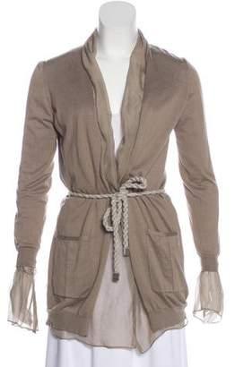 Brunello Cucinelli Knit Long Sleeve Cardigan