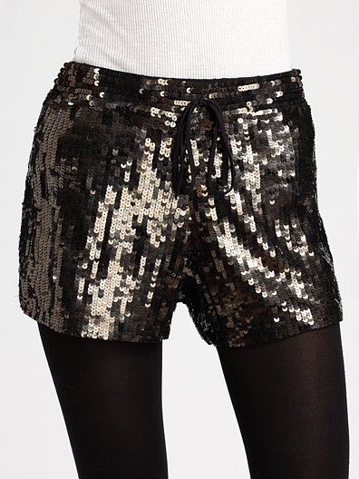Gryphon Sequin Gym Shorts