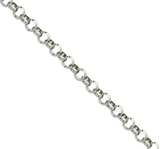 "Steel By Design Stainless Steel 18"" Rolo Chain Necklace"