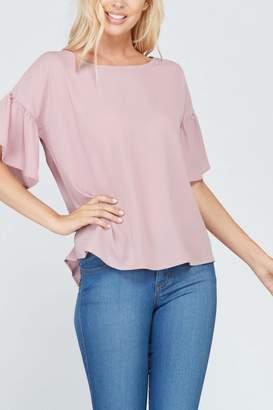 Rosette Bell Short Sleevetop