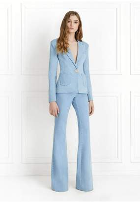 Rachel Zoe Jordan Light Denim Wide-Leg Pants