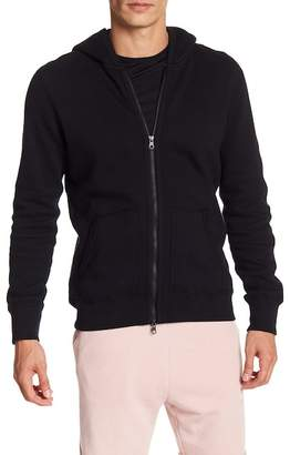 Reigning Champ Double Knit Full Zip Hoodie