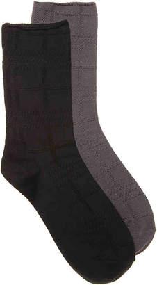 Kelly & Katie Soft Plaid Crew Socks - 3 Pack - Women's